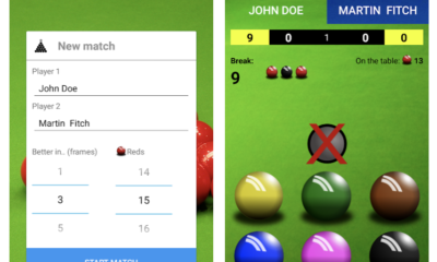 Snooker Score Counter app