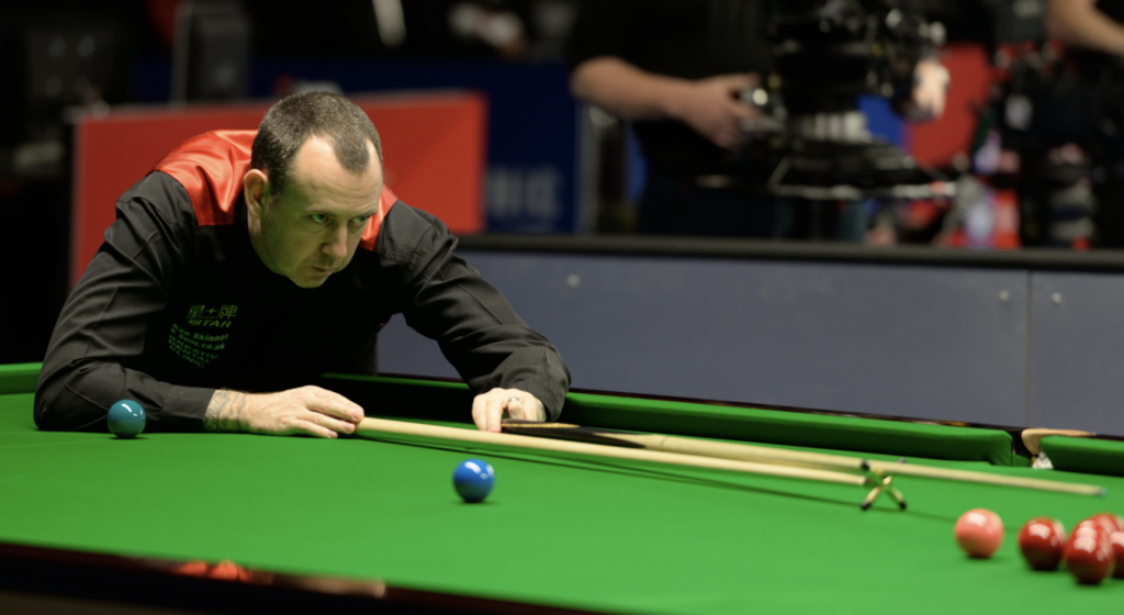 Welsh snooker player Mark Williams