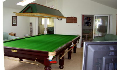 home snooker room